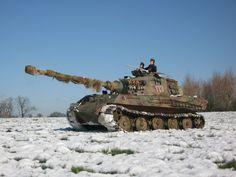 Model Pz 6 Tiger 2 or King Tiger