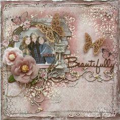 Live Beautifully *Maja & Dusty Attic Design* - Scrapbook.com