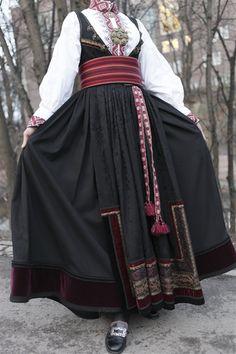 Folk Costume, Costumes, Scandinavian Fashion, Folk Fashion, Norway, Ethnic, Traditional, Sewing, Clothes