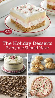 These unbeatable desserts are sure to steal the show at the center of your holiday dessert table.
