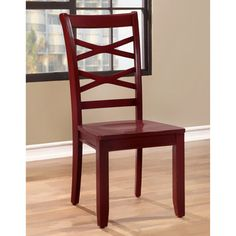 Furniture of America Crane Country Style X-Back Side Chair (Set of 2)   Overstock.com Shopping - The Best Deals on Dining Chairs