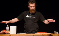 Você sabe mesmo afiar uma faca? - http://superchefs.com.br/afiacao-de-facas-e-essencial/ - #Chef, #CursoDeAfiaçãoDeFacas, #Facas, #Noticias, #PeterHammer