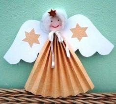 Angelito de papel