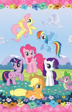 Amazon.com: My Little Pony Tablecover: Toys & Games