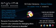Discount Deals Anytime - 54 in 1, HTML Powerful Business Magazinelowest price for you. In addition you can compare price with another store and read helpful reviews. Buy