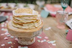 Eat your heart out crepe cake with mascarpone cream filling