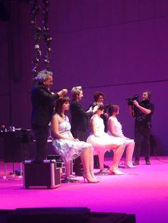 Momentos del show en Milán Compagnia della Bellezza #ilovecdb #ioprincipessa #compagniadellabellezza #besuper