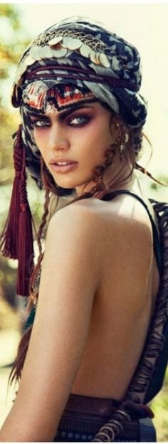 Gypsy love... bohemian, creative, artistic, natural, tribal, beauty