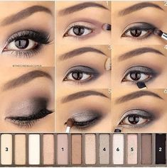 Delineated, smoky, colors, shapes and techniques to make up your eyes every time We propose ten eye makeup looks for different tastes and. Eye Makeup Tips, Smokey Eye Makeup, Makeup Goals, Love Makeup, Skin Makeup, Makeup Inspo, Makeup Eyeshadow, Dead Makeup, Makeup Dupes