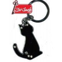 Черно коте с очи - кристали