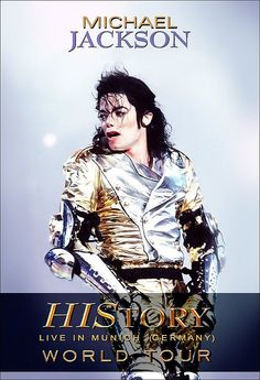 Michael Jackson History World Tour Stand-Up Display by kiss76