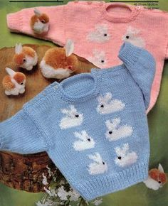 VINTaGE EASTER AnD SPRInG BaBY BUNNIES BaBIES by Crafting4Ever2013, $1.50