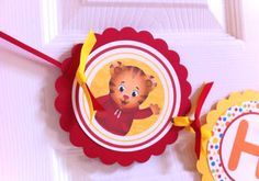 Daniel Tiger Banner by PrettyPeacockPartys on Etsy