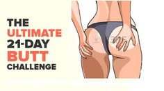 21-DAY BUTT-LIFTING CHALLENGE – FITNESS