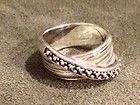 MICHAEL DAWKINS STERLING SILVER 925 GRANULATION RING SIZE 7 - DAWKINS, GRANULATION, MICHAEL, Ring, silver, Size, Sterling - http://designerjewelrygalleria.com/designer-jewelry-galleria/michael-dawkins-sterling-silver-925-granulation-ring-size-7-3/