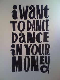Piet Parra - I want to dance in your money