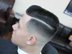 Haircut by richiesouthpaw http://ift.tt/1MPMgy3 #menshair #menshairstyles #menshaircuts #hairstylesformen #coolhaircuts #coolhairstyles #haircuts #hairstyles #barbers