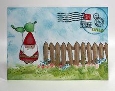 gnome mail art