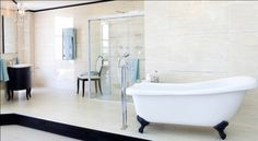 Step back in time and transform your bathroom into a Victorian style sanctuary…..