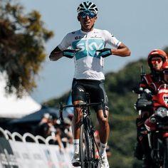 Egan Bernal, la joya colombiana del Team Sky se impuso en la segunda etapa del Amgen Tour of California con final en el Gibraltar Road, etapa reina de la presente edición, de paso el colombiano Egan Bernal es el nuevo líder de la prueba; de esa manera el ciclismo colombiano suma 2 victorias en igual número de etapas. #AmgenTourofCalifornia #EganBernal #TeamSky