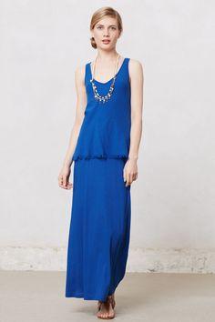 Tiered Maxi Dress - Anthropologie.com