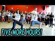 FIVE MORE HOURS - Chris Brown & Deorro Dance | @MattSteffanina Choreography (Beg/Int Hip Hop) - YouTube