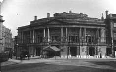 The Queen's Hall London was destroyed by incendiary bomb in May of 1941.