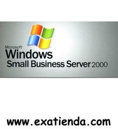 Ya disponible Licencia small business 2000 pack 5              (por sólo 267.99 € IVA incluído):    -Microsoft Small Business Server 2000 Licencia 5 Clientes Adicionales Español Garantía de fabricante  http://www.exabyteinformatica.com/tienda/1300-licencia-small-business-2000-pack-5 #server #exabyteinformatica