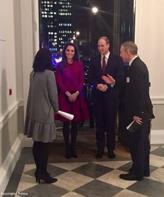 For their second engagement of the day, the Duke and Duchess of Cambridgeattended a Guild of Health Writers conference focusing on mental h...
