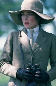 "Meryl Streep as Karen Blixen in ""Out of Africa"" - Academy Award nomination for best actress in a leading role"