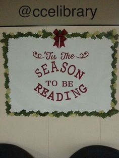 Another new winter library board. Another new winter library board. Christmas Library Bulletin Boards, December Bulletin Boards, Halloween Bulletin Boards, Reading Bulletin Boards, Winter Bulletin Boards, Library Boards, Bulletin Board Display, Library Ideas, Library Signs