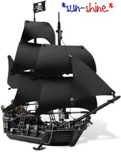 804PCS THE BLACK PEARL Pirates of the Caribbean Building Toys 16006