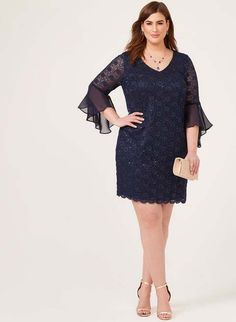 32d902ded24c Платья для полных женщин канадского бренда Laura зима 2018-2019 (50 фото).  Elsa · Things to Wear