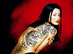 Do you want some exciting designs for Full back tattoos? Check tattoos for men and women. You would love to see asian, angel and tribal tattoos for back. Dragon Tattoo For Women, Back Tattoo Women, Dragon Tattoo Designs, Tattoos For Women, Tattooed Women, Tribal Back Tattoos, Star Tattoos, Body Art Tattoos, Sleeve Tattoos