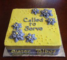 Sorella Bella: Sister Missionary Cake Ideas