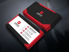 Business card by vazon on creativemarket business cards psd business card templates features round square corner possible wajeb Images