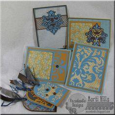 cricut card & tag set