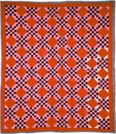Irish Chain quilt, c. 1900-1915. From the collections of the Museum of Florida History.