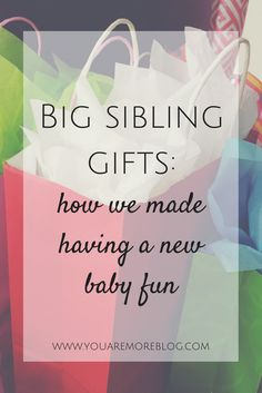 When welcoming a new baby, it's important to make it fun for everyone! Big sibling gifts are a great way to get the whole family excited about a new baby! Big Sibling Gifts, Big Brother Gifts, New Big Brother, New Sibling, Big Sister Bag, Big Sisters, Hospital Gifts, Older Siblings, Baby Massage
