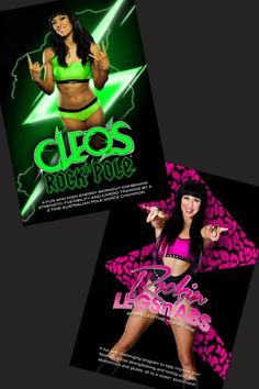 Cleo's Rock N Pole | Rockin' Legs N Abs DVD COMBO -- See this great product.