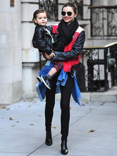 MIRANDA KERR WITH SON FLYNN