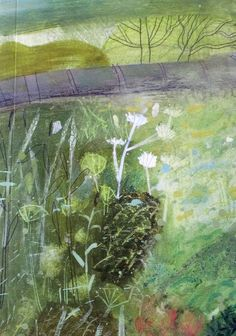 Elaine Pamphilon from post @ CAROLYN SAXBY MIXED MEDIA TEXTILE ART: September