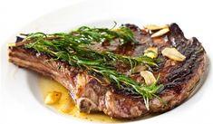 Rosemary Garlic Steak Recipe on Yummly. Garlic Steak Recipe, Garlic Recipes, Steak Recipes, Rosemary Recipes, Halibut Recipes, Kitchen Recipes, Cooking Recipes, Healthy Recipes, Yummy Recipes