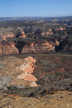 Black Ridge Canyons Wilderness, Colorado.  Photo: Matt McGrath Photography, via Flickr