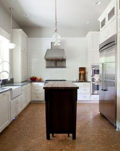 Cork Floor, Green Design   Beth Haley Design
