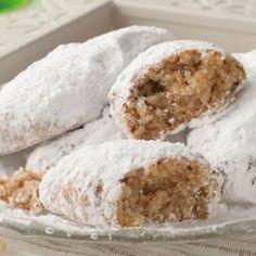 Greek Sweets, Greek Desserts, Greek Recipes, Cake Mix Cookie Recipes, Cake Mix Cookies, Dessert Recipes, Greek Cookies, Greek Pastries, Greek Dishes