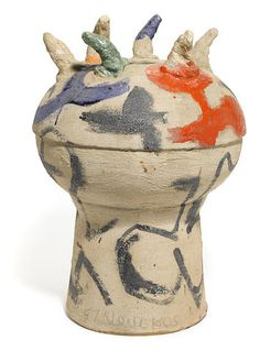 Peter Voulkos (American, 1924-2002) Large Vessel, (CR533.2-G), 1957