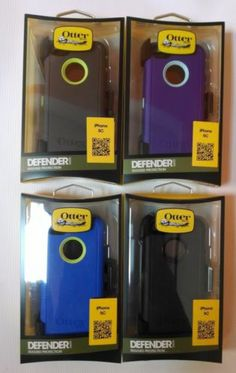 iP5c Otter box Defender Series Case Cover with Belt Clip for Apple iPhone 5 c