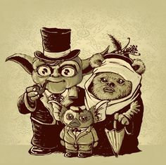 Yoda, you old dog! So THAT'S where gremlins come from!