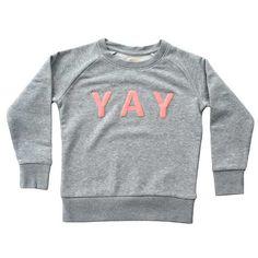 YAY sweater Frutti pink                         – De Gele Flamingo